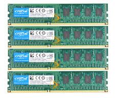 Crucial DDR3 RAM 8 GB 4X 2GB 2 GB PC3-10600 1333MHz 240pin UDIMM Desktop Memory
