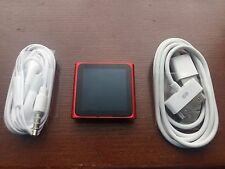 Apple iPod nano 6th Generation Red (16GB) Special Edition Excellent Condition