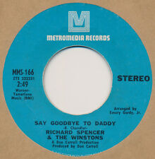 RICHARD SPENCER THE WINSTONS Soul 45 Say Goodbye To Daddy / Mama's Song