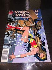 WONDER WOMAN #85 NEWSSTAND 1ST MIKE DEODATO Art for Wonder Woman RARE!! HTF!!