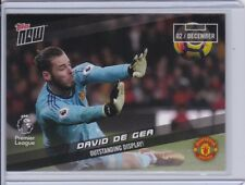 2017-18 Topps NOW Premier League 073 David de Gea Manchester United ~ PR 65