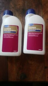 2 BOTTLES OF  WICKES CLEANSER  CENTRAL HEATING  ADDITIVE  CONCENTRATE