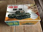 Nomura STICK SHIFT ARMY TANK   ( Boxed ) Old Shop Stock Battery Operated Rare