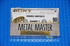 SONY  METAL  MASTER   90  BLANK CASSETTE TAPE (1) (SEALED)