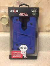 New Blue Zizo Bolt Phone Case Bolt Cover for LG LS775