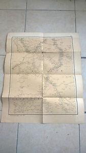 Carta mappa SUDAN 1885 military map Istituto Geografico Militare 55 x 45 cm