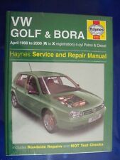 NEW Haynes Workshop Manual VW Golf 98-00 VW Bora 98-00 Petrol Diesel 4-cyl Turbo