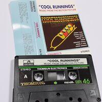 COOL RUNNINGS RARE IMPORT CASSETTE TAPE ALBUM MOVIE SOUNDTRACK THOMSUN SAUDI