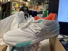 New Balance size 13  Harren ML597VAA Weiss Sneakers Herbst/Winter Leder