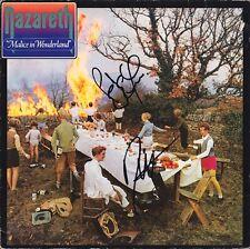 NAZARETH Malice in Wonderland VINYL Dan McCafferty & Pete Agnew Autograph SIGNED