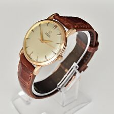 Vintage Men's Omega Automatic Watch: 14k Gold Filled: Rare Bumper Cal.351 (061)