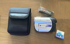 Sony Handycam DCR-DVD106E PAL mini DVD Camcorder 40x Optical Zoom Night Vision