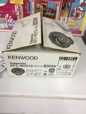 "Kenwood KFC-W2509 10"" 4-ohm 700W subwoofer In Original Box"