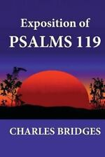 Exposition Of Psalms 119: By Charles Bridges
