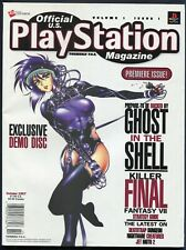 1997 First Official U.S PlayStation Video Game Magazine 01 October Final Fantasy