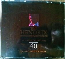Jimi Hendrix - The Gold Collection: 40 Classic Performances, Doppel-Musik-CD