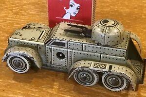 Rare CKO Kellermann 338 Pre war Tinplate Armored Car 'Panzerspähwagen' 1930's