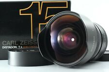 【N MINT BOXED】 Contax Carl Zeiss 15mm f/3.5 Distagon T* Lens For C/Y from JAPAN