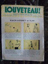 Magazine LOUVETEAU n° 7 - 1935 - Imprimerie des ouvriers sourds-muets PARIS