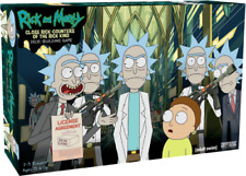 Rick and Morty Deck Building card Game Close Rick-Counter of the Rick Kind board