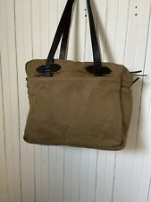 Filson Tote Bag With Zipper 70261 Olive