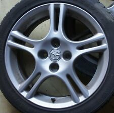 MAZDA MX5 Alufelgen ORIGINAL FELGEN  Sportive 16 ZOLL inkl. Reifen selten Räder