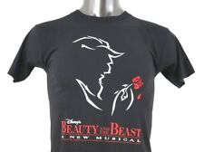 NWOT Disney Beauty and the Beast A New Musical Youth's West End London Shirt