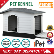 i.Pet Extra Extra Large Pet Kennel Weatherproof Indoor Outdoor XXL Dog House New