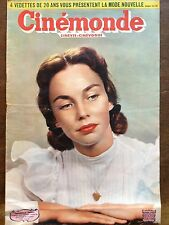 "CINEMONDE 1950 N 810 JENNIFER JONES dans le film "" PORTRAIT DE FEMME """