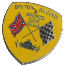 British Racing and Sports Car Club lapel pin
