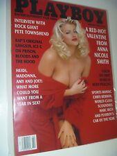 Anna Nicole Smith PLAYBOY February 1994 in Plastic Magazine Sleeve