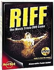 Riff: The Music Trivia DVD Game  (DVD / HD Video Game NEW
