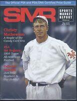 SMR Sports Market Report PSA/DNA Guide Magazine C.MATHEWSON  MAY 2016 NEW