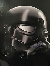 Star Wars Shadow Trooper Helmet Voice Changer Realistic Black Series EFX AMAZON