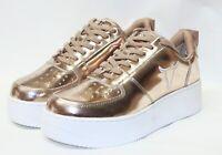 Windsor Smith 41 Racerr rose gold chrome sneaker platform Donna Windsorsmith