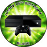 Xbox Style Personalised cake topper or cupcake toppers edible icing or Wafer