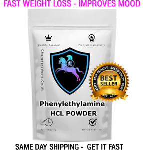 PHENYLETHYLAMINE Powder PEA 25g Fast Weight Loss - Improve Mood - Stress