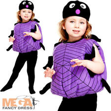 Incy Wincy Spider Toddler 2-3 Years Halloween Fancy Dress Kids Bug Book Costume
