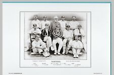 New listing CRICKET  -  UNMOUNTED CRICKET TEAM PRINT - HAMPSHIRE - 1895
