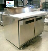 "NEW 48"" Commercial Sandwich Salad Prep Refrigerator Model TFP48 12 Station NSF"