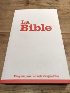 La Bible. L'original, avec les mots d'aujourd'hui - Just £1.00 +Postage VGC 2017