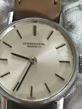 Original International Watch Company ( IWC) Small Manual Wind Ladies Watch