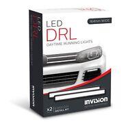 (PAIR) INVISION LIGHTING 164mm LED Daytime Running Light Universal DRL Kit