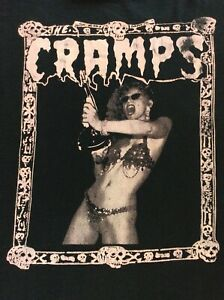 The Cramps T shirt Poison Ivy Luxe Interior Bikini Girls with Machine Guns
