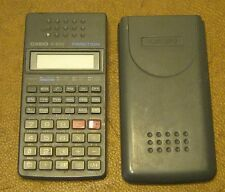 VINTAGE Casio FX-82SX Fraction Calculator w Cover WORKS GREAT!!
