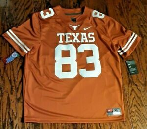 Nike Texas Longhorns #83 Limited Home Stitched Jersey Men's AQ0012 CHOOSE SIZE