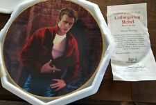 Hamilton 1992 James Dean The Legend Unforgotten Rebel Ltd Ed Plate