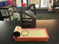 VW TIGUAN (5N) 2.0TDI SERVICE KIT OIL & AIR FILTERS - 5 LITRES COMMA XFLOW