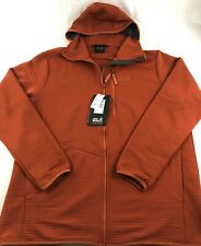 Jack Wolfskin Modesto Hooded Jacket Mexican Red Pepper Mens XXXL 3XL NWT