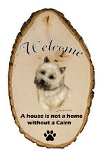 Outdoor Welcome Sign (Tb) - Wheaten Cairn Terrier 51094